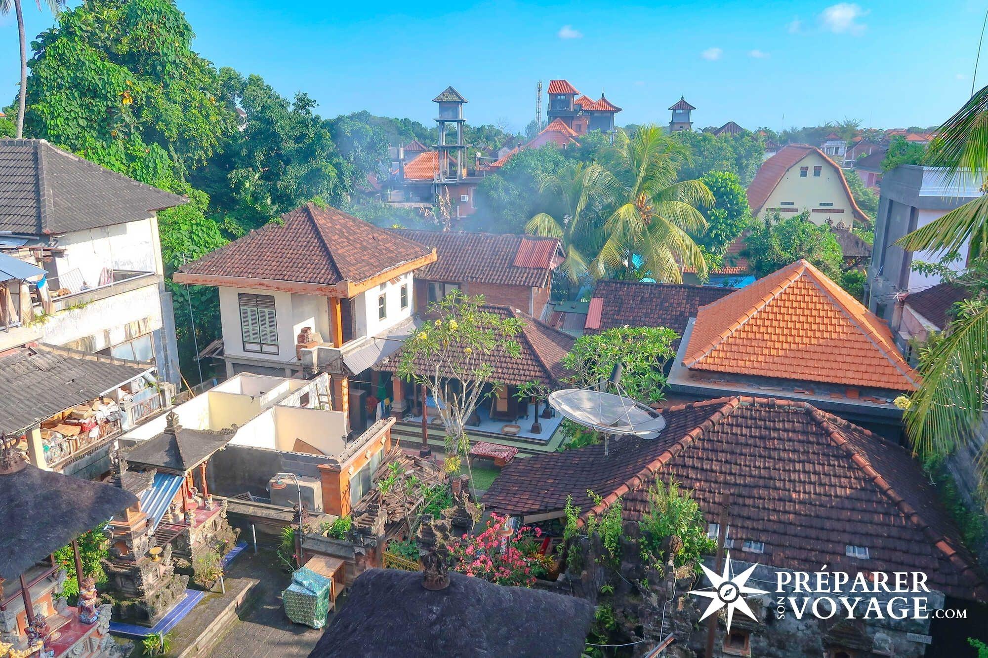 Ubud à Bali, indonésie